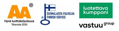 Hyvä luottokelpoisuus - Luotettava kumppani - Suomalaista palvelua
